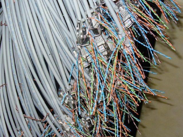 メタル配線工事